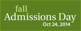 Fall Admissions Day 2014